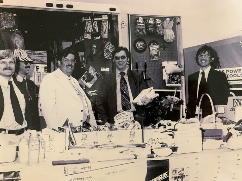 Albany Welding Supply Sales Team led by Dennis J. Mahony in August 1977